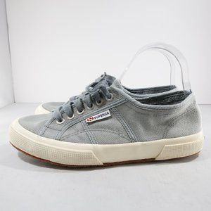 Superga COTU Classic Blue/Beige Low Top Sneakers
